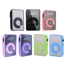 Mirror Portable Music MP3 player Mini Clip MP3 Player waterproof sport mp3 music Media player mp3 Support For Micro SD TF Card