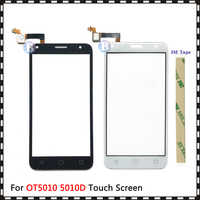 """Replacement High Quality 5.0"""" For Alcatel One Touch 5010 5010D OT5010 Touch Screen Digitizer Sensor Outer Glass Lens Panel"""