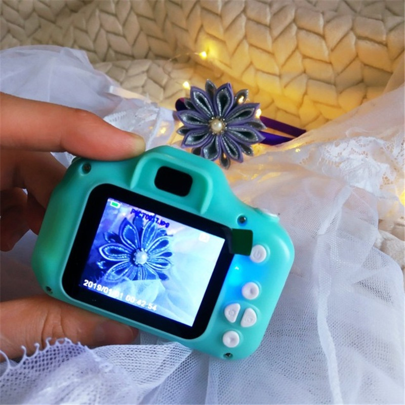 Mini Digital Camera Toys for Kids 2 Inch HD Screen Chargable Photography Props Cute Baby Child Birthday Gift Outdoor Game 5
