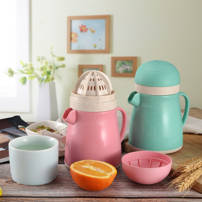 High Quality More Function Manual Operation Juicer Mini- Portable Liquidizer Household Fruits Watermelon Juicing Cup
