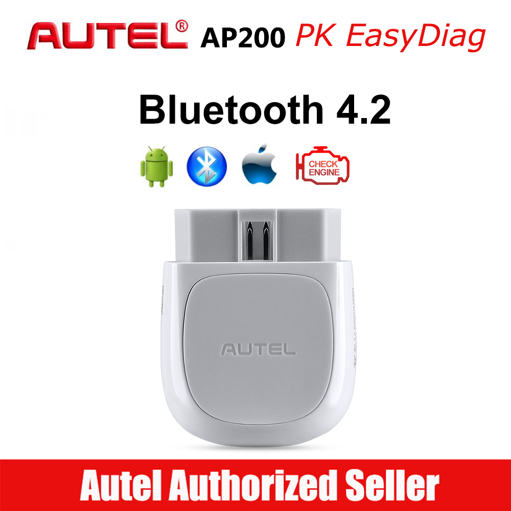 Autel OBD2 Scanner Code-Reader Bluetooth-Connector Immo-Service Full-Systems Diagnoses title=