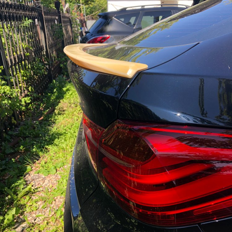 For <font><b>BMW</b></font> <font><b>F26</b></font> X4 Car Tail Wing Decoration Rear Trunk <font><b>Spoiler</b></font> ABS Material For <font><b>BMW</b></font> X4 <font><b>F26</b></font> <font><b>Spoiler</b></font> 2015 2016 2017 image