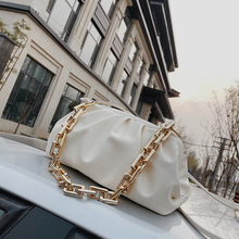 Chain Shoulder Bags for Women 2020 Solid Color Luxury