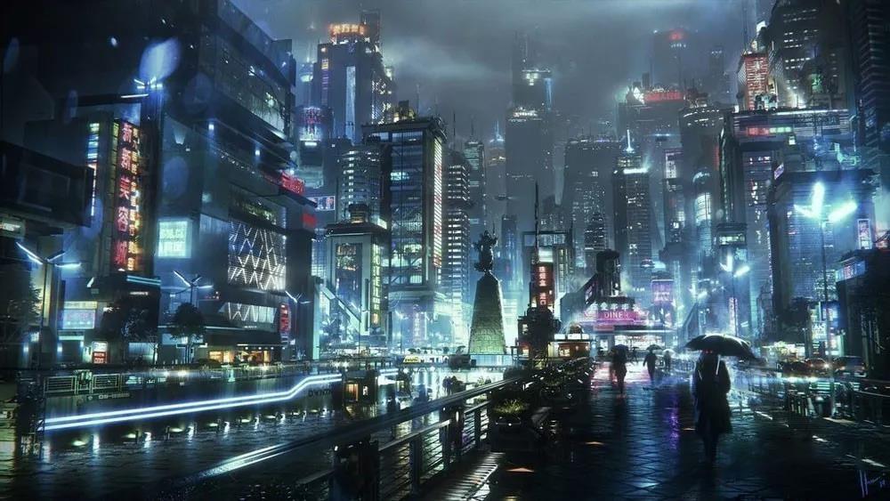 价值199美元的C4D未来新上海城市模型套件