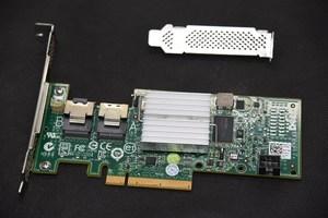 Image 2 - Used original Dell H200 PERC SAS SATA 6Gb PCI e  8 Port Raid Controller=9210 9211 8i 047MCV DELL H200 P20 IT mode