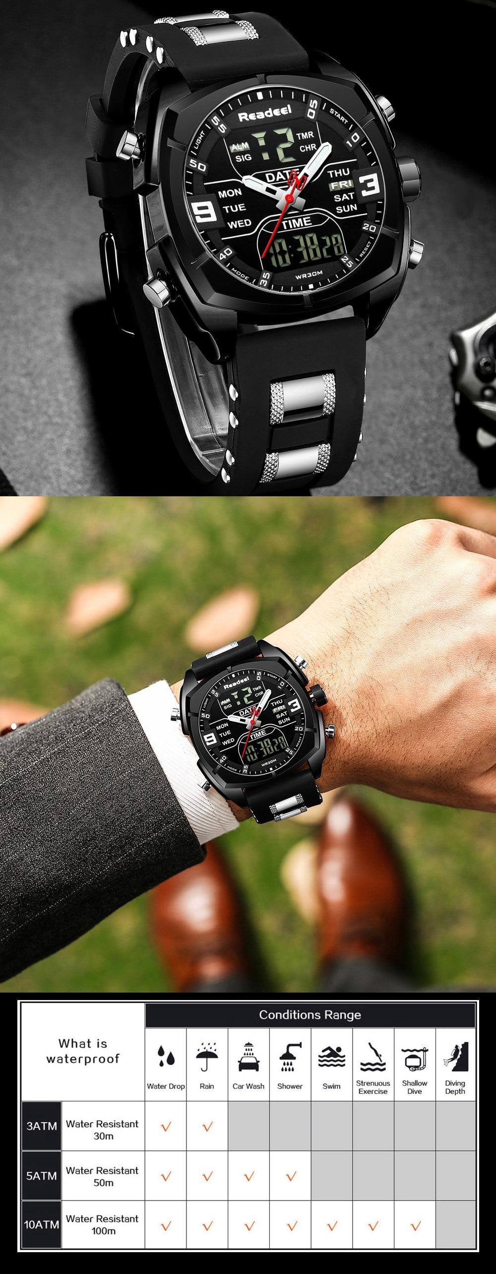 H8f15773ff2a54872a105fb58baef2c71k Mens Watches Luxury Brand Men Sports Watches Men's Quartz LED Digital Clock Male Rubber Military Wrist Watch Relogios Masculinos