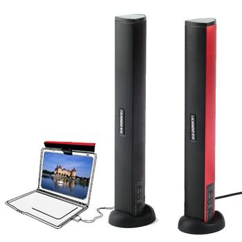 USB Laptop Speaker Portable/Computer Audio Mini Soundbar Subwoofer Bar Stick Music Player to PC Hot Sale Ikanoo Brand 1