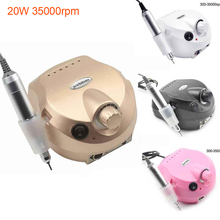 20W 35000rmp Electric Manicure Machine Nail Drill Auxiliary Pedicure Tool File