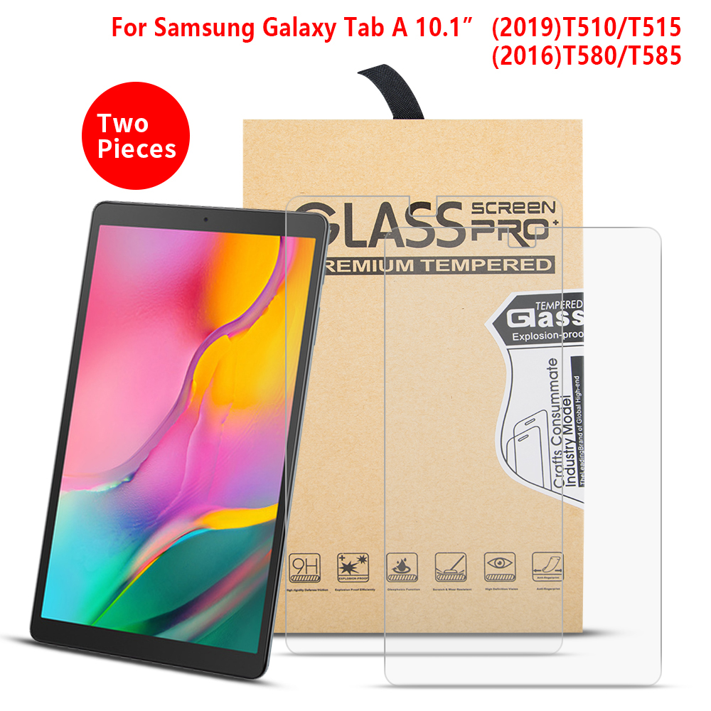 Tempered Glass Screen Protector For Samsung Galaxy Tab A 10.1 2016 T580 T585 Film For Samsung Galaxy Tab A10.1 2019 SM-T510/T515