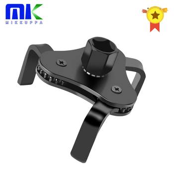 Mikkuppa Oil Filter Wrench Tool For Auto Car Repair Adjustable Two Way Removal Key Repairing Tools 55-115MM - discount item  25% OFF Auto Replacement Parts