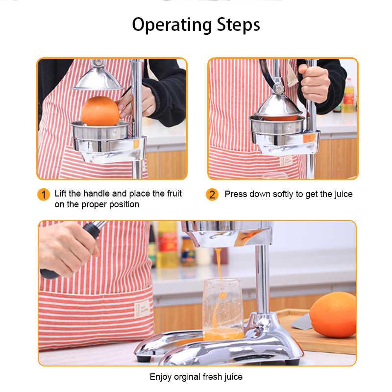 ステンレス鋼プレスジューサースク lemon orange ザクロフルーツジュース抽出商業や家庭