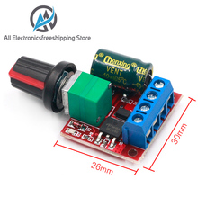 DC 4.5V-35V 5A 20khz LED PWM DC Motor Controller Speed Control Dimming Max 90W Newest