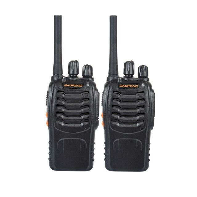 2 قطعة/زوج USB شاحن اسلكية تخاطب Baofeng BF-888H UHF 400-470MHz 16CH VOX المحمولة اتجاهين راديو bf-888h 1