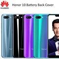 100% Оригинальный стеклянный корпус для Huawei honor 10, чехол для аккумулятора с клейкой наклейкой для Honor 10, задняя крышка, запасные части