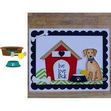 Набор посуды для домашних животных металлический трафарет вырезания