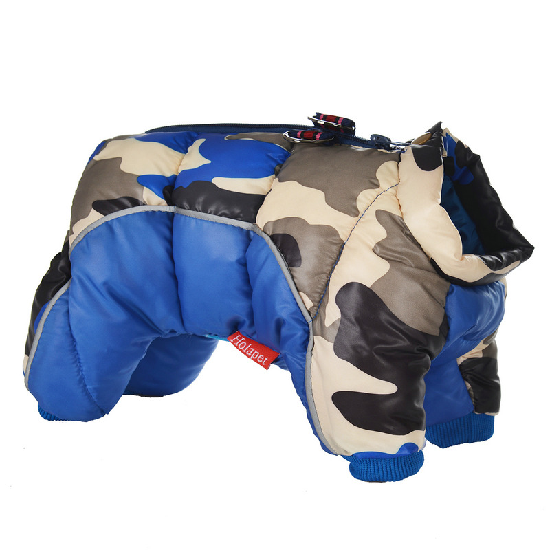Reflective and Warm Dog Jacket and Waterproof Winter Dog Clothing with Strong Zipper and D-Ring 29