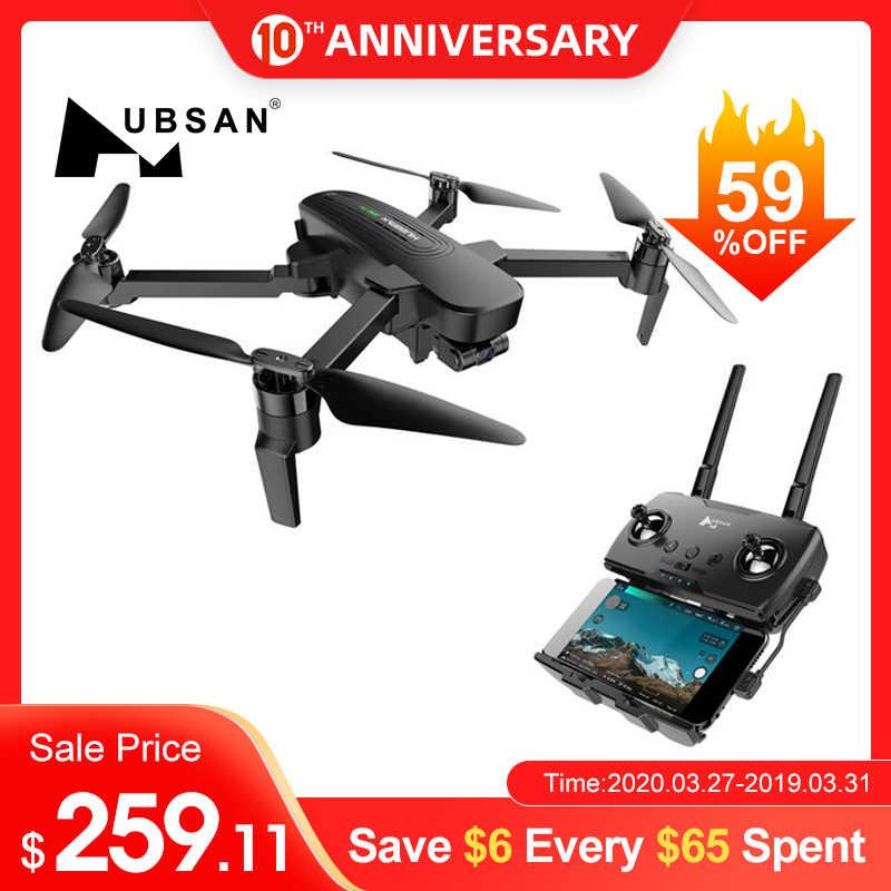 オリジナル hubsan H117s 1 キロ/ジノプロ 4 キロ gps と 5 グラム wifi fpv 4 uhd カメラ 3 軸球パノラマ rc ドローン quadcopter