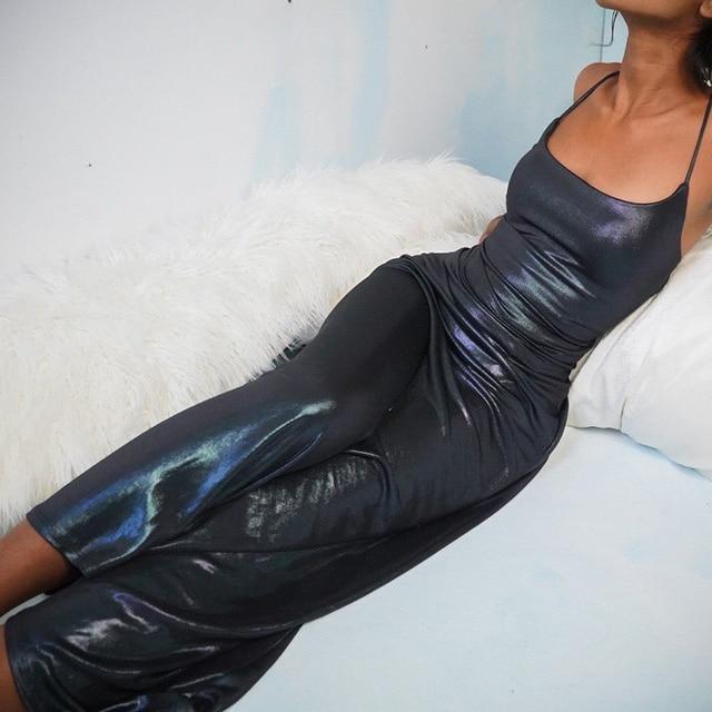 Halter dress women sexy elastick halter black Sexy Strap Backless bodycon dress maxi halter dress y2k nigthclub dressParty dress 5