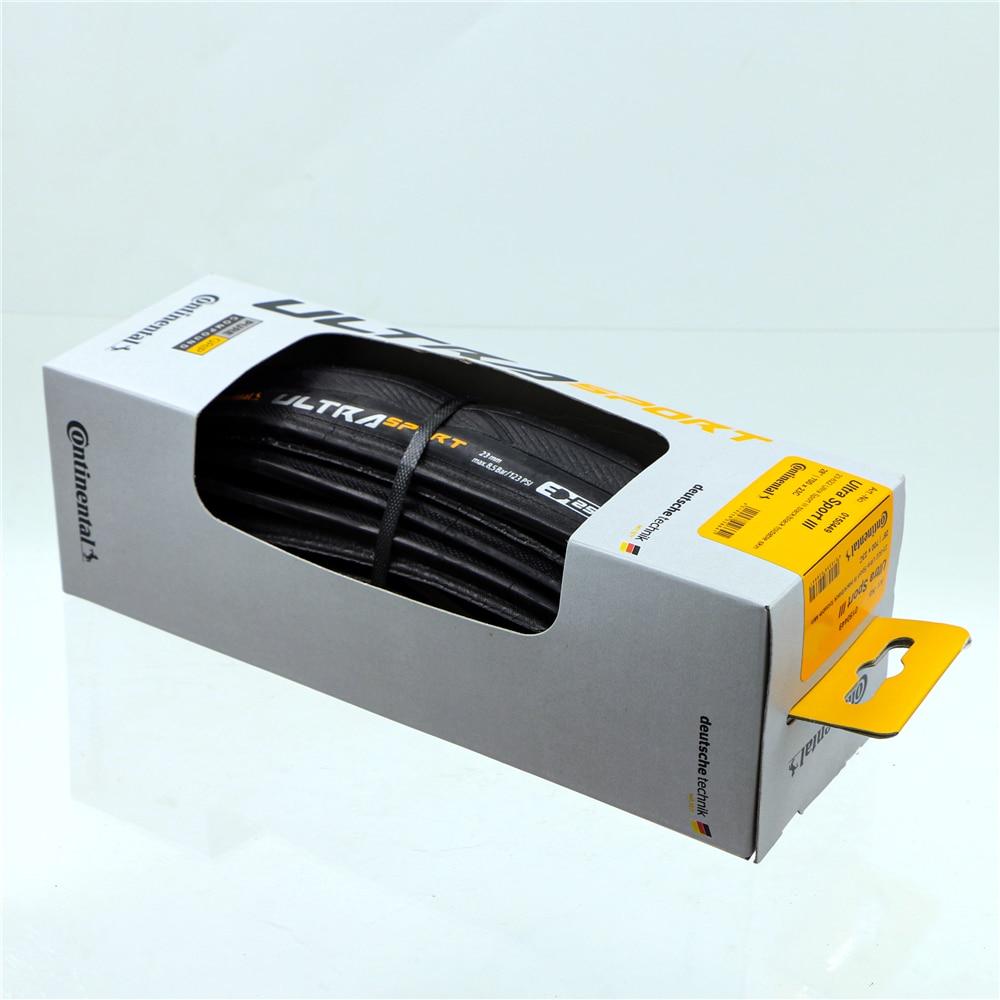 Continental Ultra Sport III Pliant Noir Paire 700 x 25 c