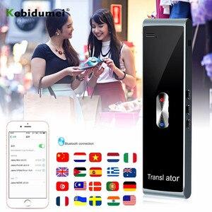 Image 2 - kebidumei Portable Smart Instant Voice Translator T8S PK T8 Multi Language Speech Interactive Translator Bluetooth Real Time