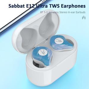 Image 3 - Newest Marble Series Sabbat E12 Ultra TWS Qualcomm Bluetooth 5.0 Earphone Support Aptx Wireless Earphones HiFi Stereo Earbuds