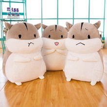 Funny Animal Plush Toy Hamster Stuffed Doll Kids Christmas Child Valentine's Day Gift Soft Toys For Children Plush Animal Pillow(China)