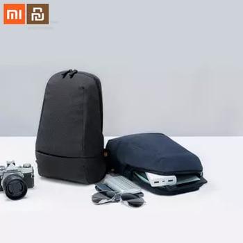 Xiaomi mijia 90 puntos ciudad multi-función bolsa de pecho hombres y mujeres bolsa de juego mochila de viaje multi-capa de almacenamiento de mochila inteligente