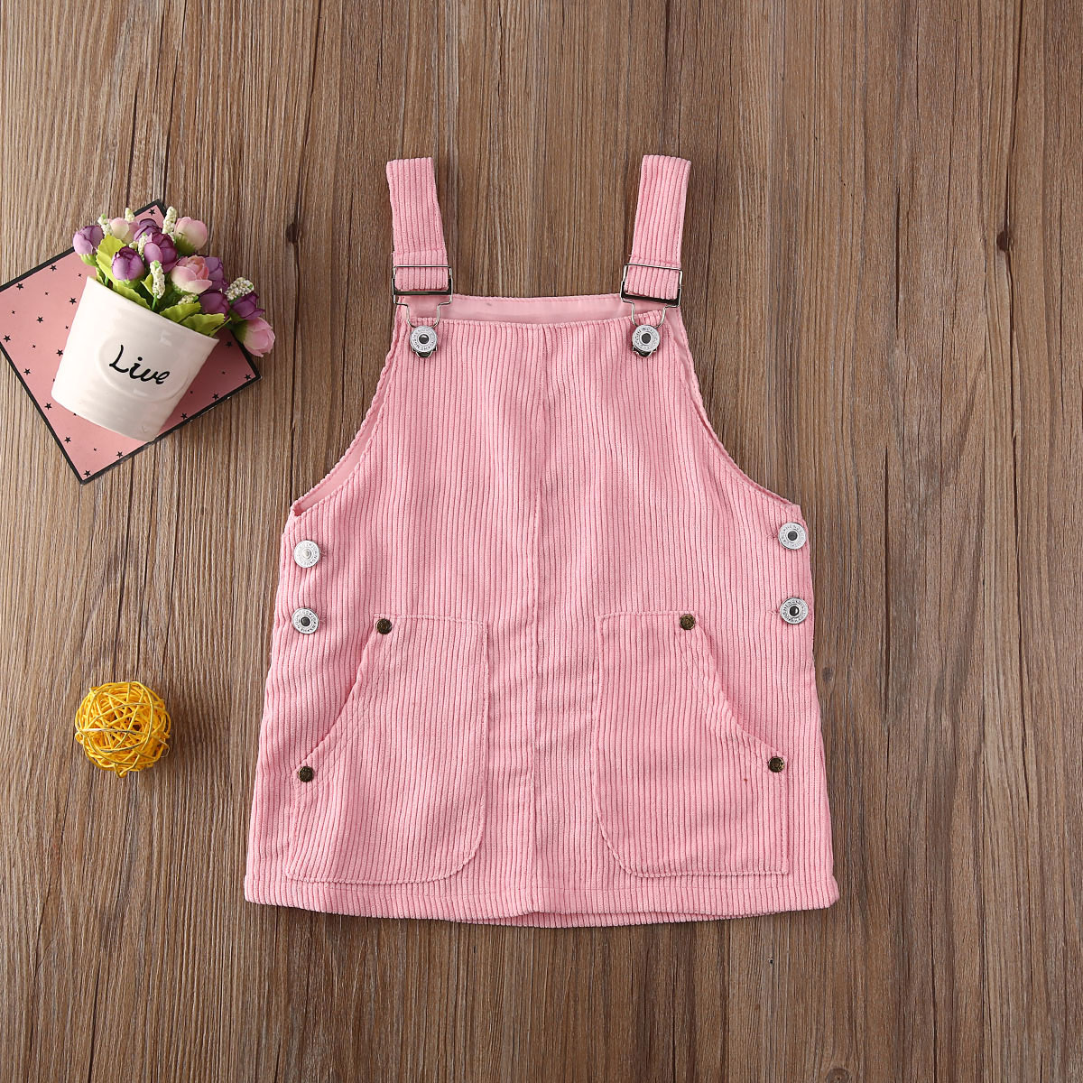 Addie Ribbed Overalls (3 Colors)