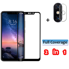 2-in-1 Tempered Glass for Redmi 6A 6 Pro Note Camera Lens Redmi6 Screen Protector