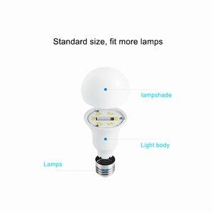 Image 5 - الأصلي الذكية LED لمبة واي فاي التحكم عن بعد سطوع قابل للتعديل Eyecare ضوء مصباح ذكي اللون الأبيض