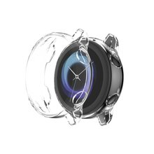 Galaxy watch active for Samsung galaxy watch active 2 44mm 40mm screen silicone case watch Accessories galaxy watch active New cheap ONLENY Cases Adult All Compatible Transparent color black Silver Rose gold Gold Pink 42 2*46 7mm