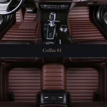 Custom car floor mat For Peugeot All Model 3008 206 307 207 2008 408 308  301 4008 RCZ 301 Auto leather mats styling accessorie