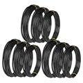 Мода-9 рулонов бонсай провода анодированный алюминиевый бонсай тренировочный провод с 3 размерами (1 0 мм  1 5 мм  2 0 мм)  всего 147 футов