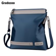 цена Gradosoo Oxford Messenger Bag Men Shoulder Bags High Quality Crossbody Bag For Men Briefcase Business Bag ipad Travel Bag LBF671
