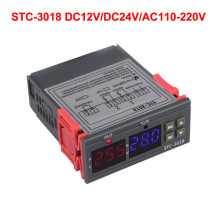 цена на STC-3018 Intelligent Digital Temperature Controller Thermostat Temperature Control Switch Thermostat for Incubator Relay Output