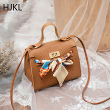 Women's Crossbody Handbag Mini Fashion High Quality PU Leather Luxury Lock Flap Design Female Bow Ribbon Shoulder Bags 2019 New nucelle brand new design fashion cosmic rivets lock robot pu leather women lady shoulder crossbody flap bags gift for girl