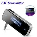 Fm-передатчик, Bluetooth, автомобильный беспроводной музыкальный аудио 3,5 мм в машину, mp3-плеер, ЖК-дисплей, автомобильный комплект, трансмиттер дл...