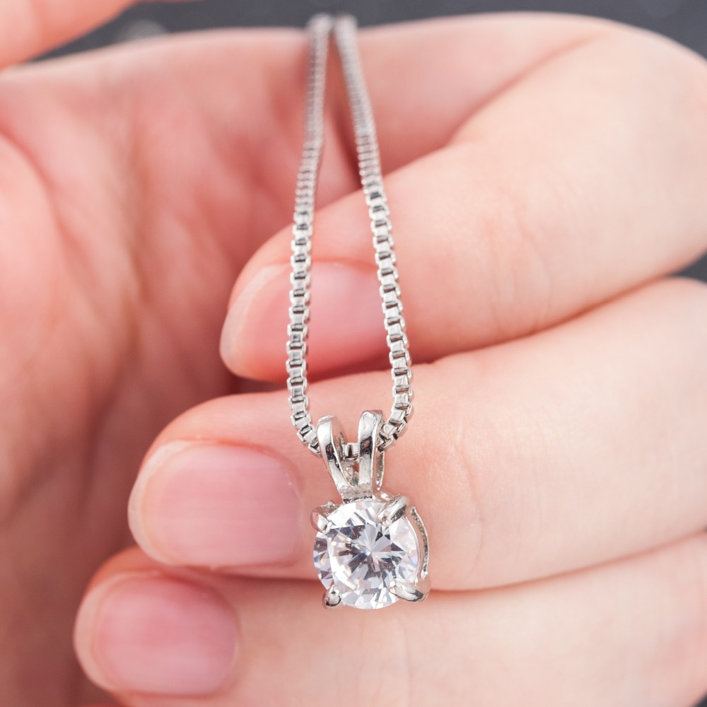 H8f19574852c34aa58162838cc367e9c2a - Crystal Zirconia Pendants Chain Necklaces Jewelry Collar Colar Wedding Jewerly
