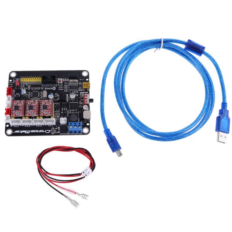 CNC 3018/2418/1610 GRBL 1.1 3 Axis Stepper Motor 2 Y USB Driver Controller Board C90A