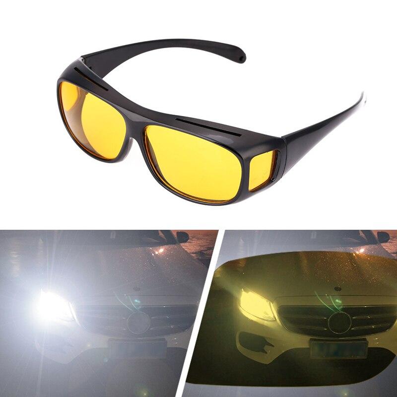 135.9руб. 12% СКИДКА|Очки для вождения автомобиля, очки ночного видения, УФ защитные очки, очки ночного видения, очки для вождения, аксессуары|Водительские очки| |  - AliExpress