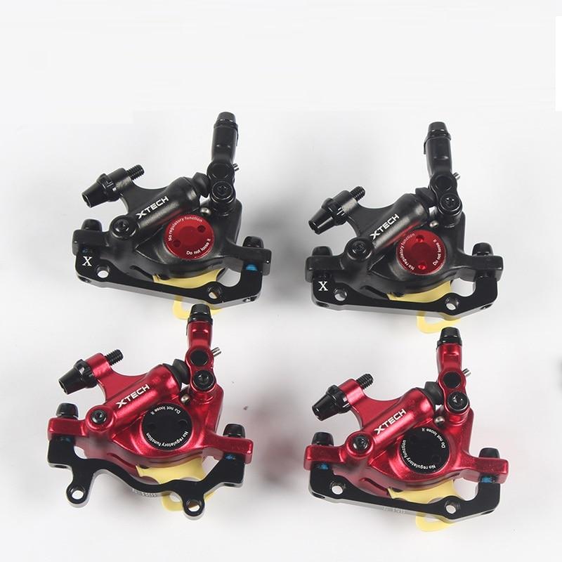 MTB Road HB-100 MTB Road Line Pulling Hydraulic Disc Brake Calipers Front & Rear Mountain bike disc brake E-BIKE disc brake