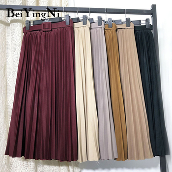 Beiyingni High Waist Women Skirt Casual   4