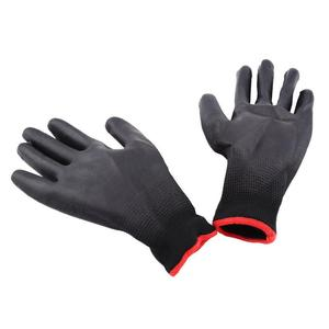 Хит продаж, 1 пара, защитные перчатки из полиуретана и нейлона, рабочие перчатки, Нескользящие варежки для защиты ладони