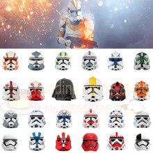 Filme série imperial stormtrooper clone force99 inferno esquadrão comandante cody figuras de ação cabeças blocos de construção brinquedos para crianças
