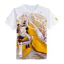 Brdwn Touken Ranbu Online Unisex T-shirt  Short sleeve Tees Tops