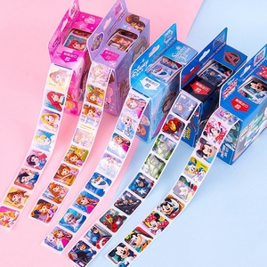 HOT SALE 200pcs/box Disney Cartoon Stickers Disney Frozen Elsa and Anna Princess Sofia Mickey Children Removable Stickers Toys