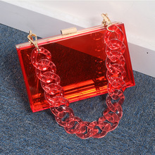 Jelly Handbags Tote Messenger-Bags Women Bag Transparent Ladies Evening-Brand European