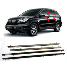 Car Window Moulding Trim Weatherstrips Seal Strip For Honda CR-V CRV 2007-2011 Vehicle Exterior Door Gasket Sealing Water Shield