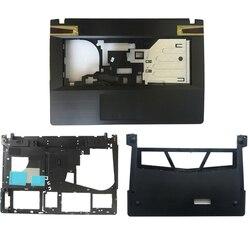 Nova capa para lenovo ideapad y400 y410 y410p palmrest capa/caso inferior/caso inferior capa porta ap0rq000e0