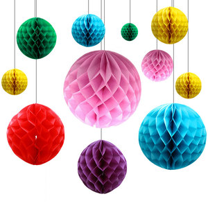 4/6/8/10/12inch Honeycomb Balls white Paper Flower christmas Lantern Ball wedding Birthday party Decoraions Baby Show Supplies